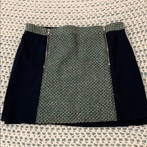 Club Monaco tweed skirt